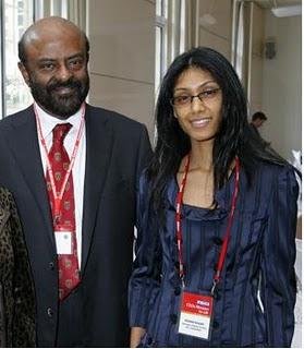 Shiv Nadar & Roshini...